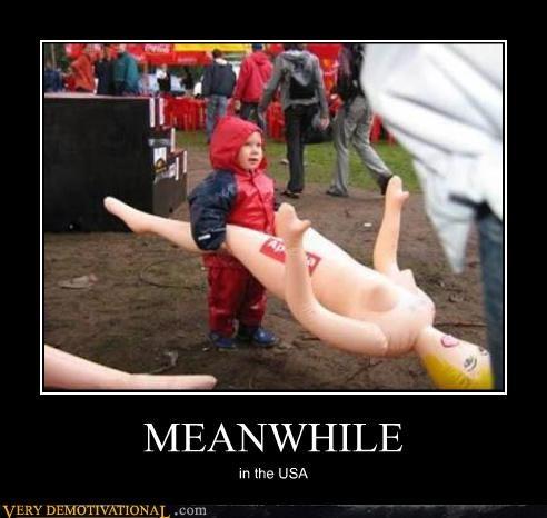 blow-up doll,kid,wtf