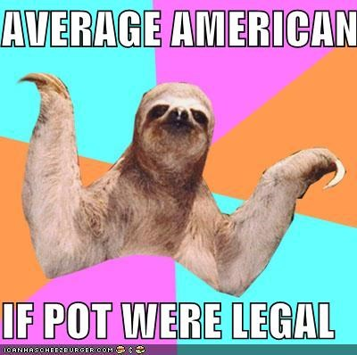 AVERAGE AMERICAN  IF POT WERE LEGAL