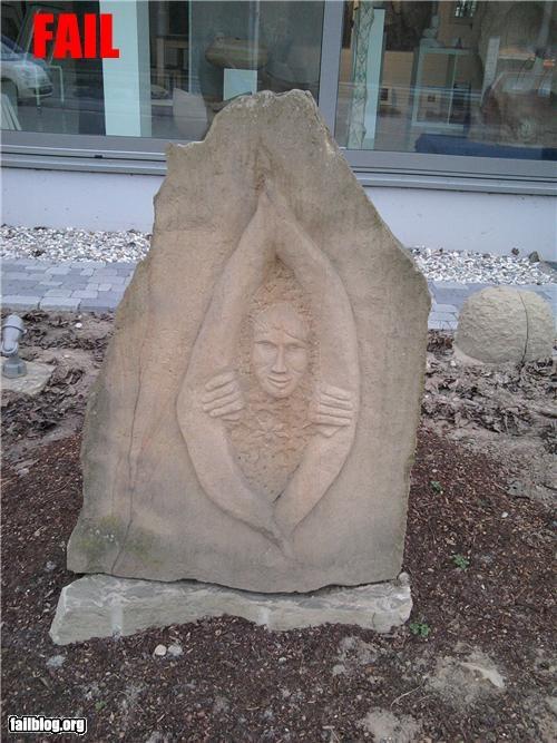Sculpture FAIL