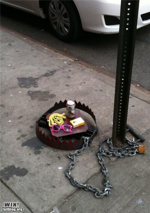 art,bear trap,beer,brooklyn,hipsters,nyc,pbr,trap