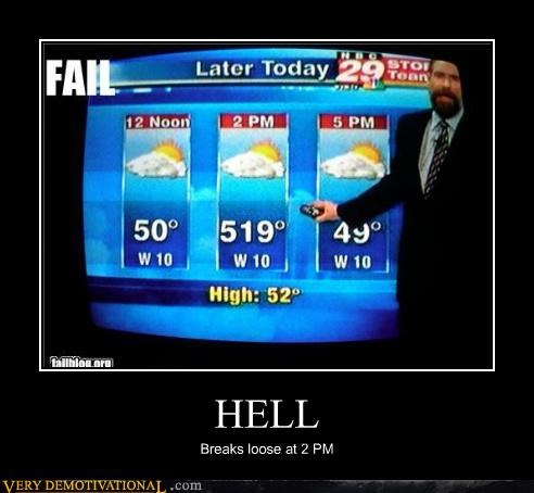 demotivational posters - HELL