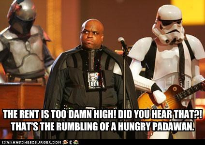 Darth McMillan Think The Rent Is Too DAMN High