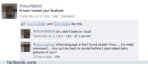 hacked,languages,parents