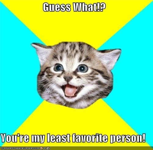 Happy Kitten: Guess What!?