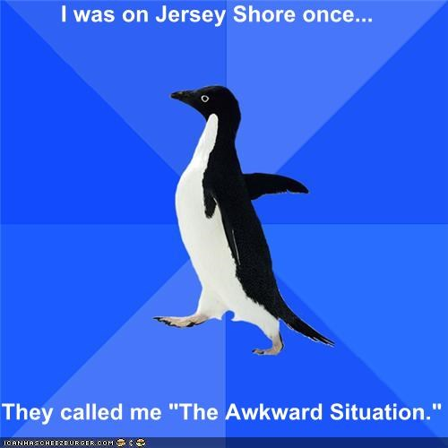 Social Awkward Penguin: Reality TV
