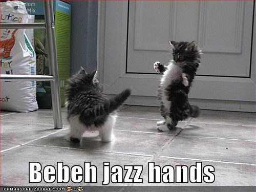 Bebeh jazz hands