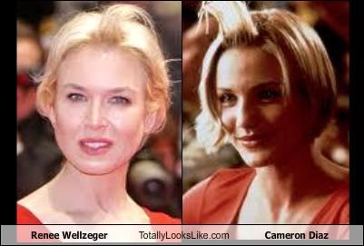 Renee Zellweger Totally Looks Like Cameron Diaz