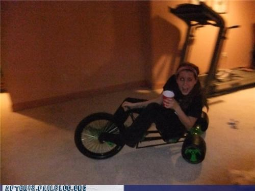 Ever Been So Drunk That You Rode An Adult Big Wheel?