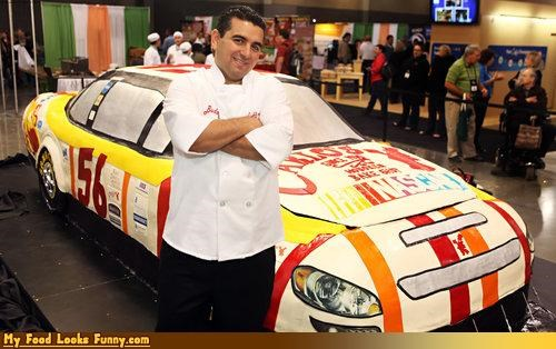cake,cake boss,car,fondant,life size,nascar