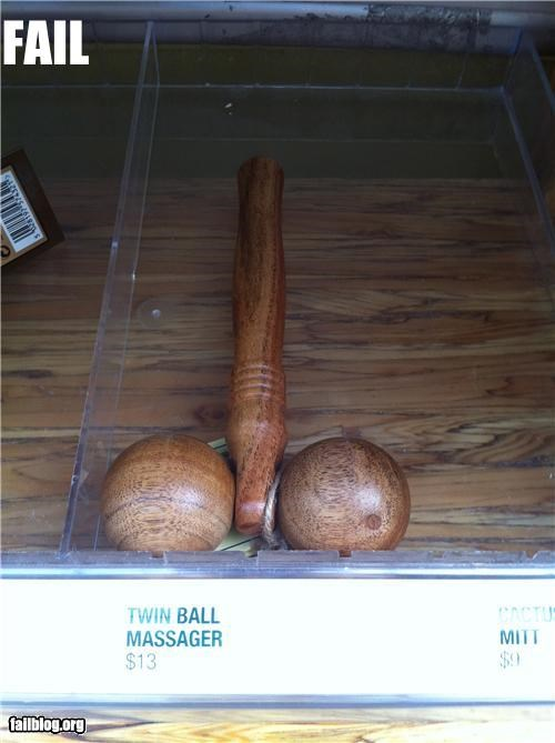 twin ball massager