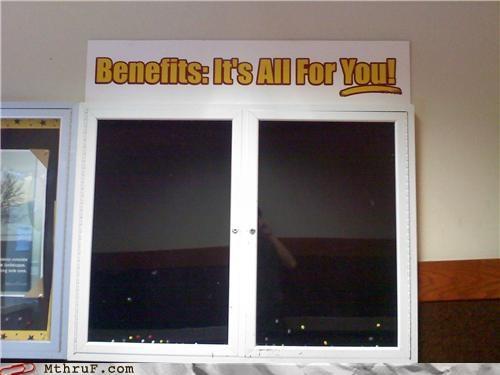 bad job,benefits,bulletin