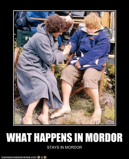 WHAT HAPPENS IN MORDOR