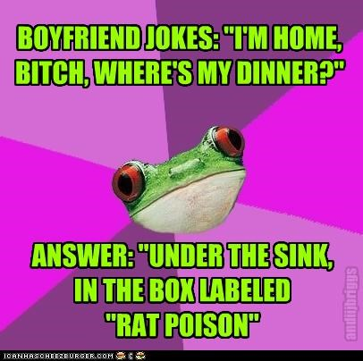 "ANSWER: ""UNDER THE SINK,  IN THE BOX LABELED  ""RAT POISON"""