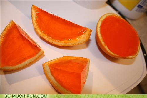 Orange jello