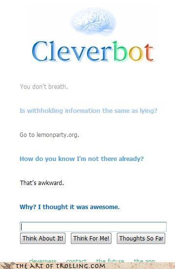 You Naughty, Naughty Bot