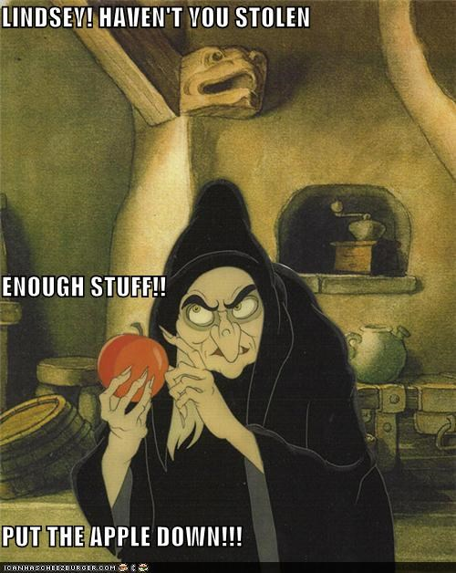 animation,disney,funny,lindsay lohan,snow white