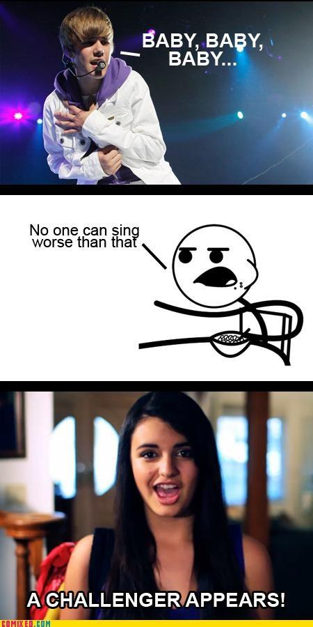 Worse than Bieber..?