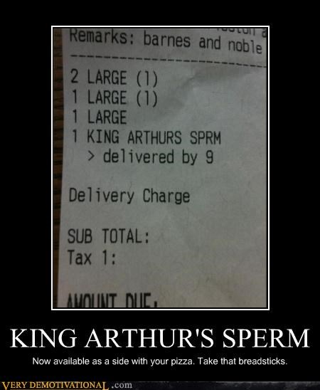 KING ARTHUR'S SPERM