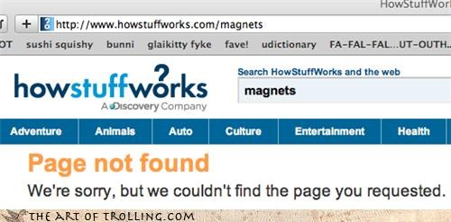 404,how stuff works,magnets,mormons,not found,secret onion rings,website