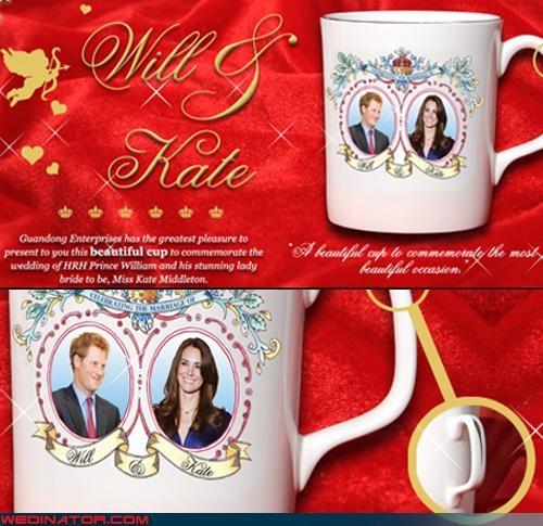 cup,funny wedding photos,kate middleton,Prince Harry,royal wedding,Royal Wedding Madness
