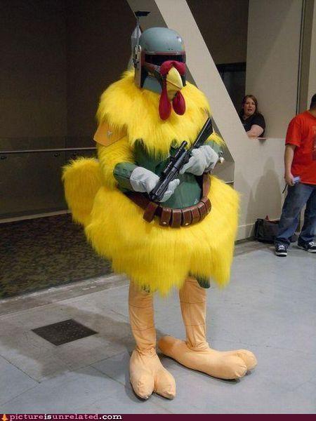 boba fett,chicken,family guy,star wars