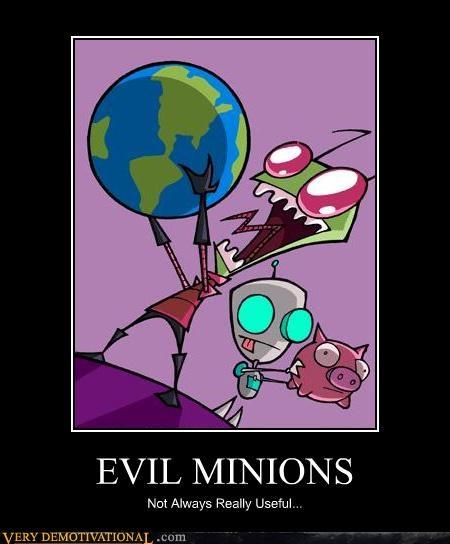 evil minions,Invader Zim,grr