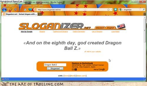Dragon Ball Z:It's That Awesome!