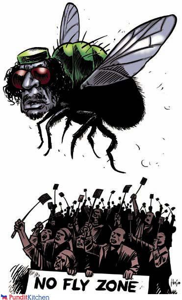 cartoons,libya,muammar al-gadaffi,no fly zone