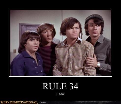 Rule 34,eww,monkees,go away