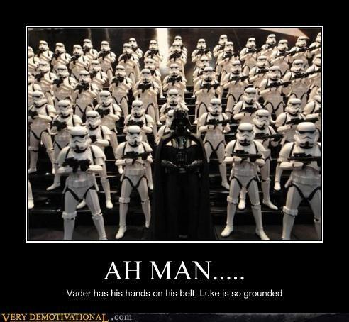 Father,son,darth vader,luke skywalker,star wars,grounded
