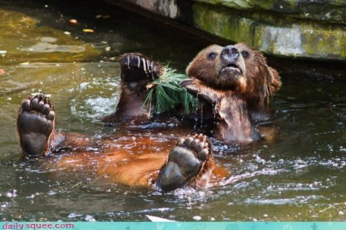 acting like animals,bath,bathing,bear,björk,caught,do not want,door,embarrassed,lock,open,singing,song,undo