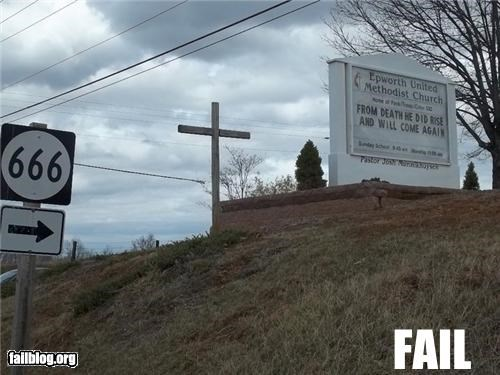 Church Location Fail