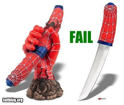 "Things that are doing it: Spider Man ""Toy"""