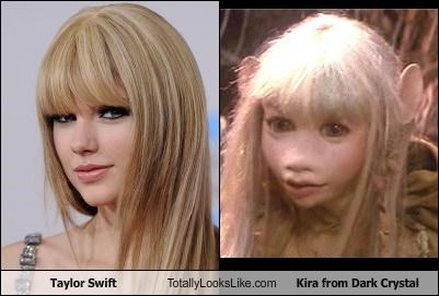 Taylor Swift Totally Looks Like Kira from Dark Crystal
