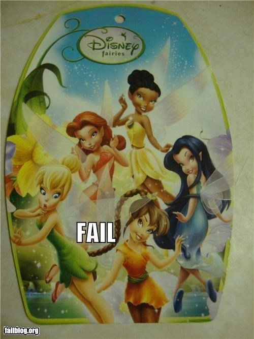 Curious Fairy FAIL