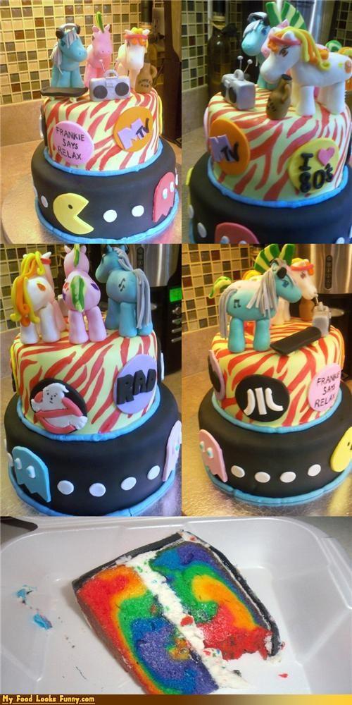 80s,boombox,cake,flachback,kitsch,mtv,ponies