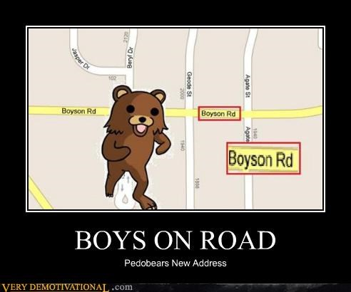 BOYS ON ROAD