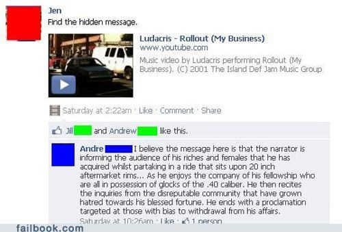 ludacris,lyrics,witty reply,you asked