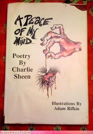 Charlie Sheen's Poetry: Oh Jeez...