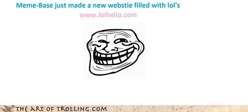 hello,lol,memebase,trollface,website
