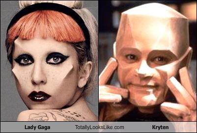 Lady Gaga Totally Looks Like Kryten