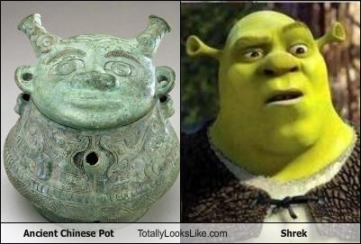 Ancient Chinese Pot Totally Looks Like Shrek