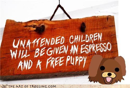 children,dogs,espresso,hacked,IRL,pedobear,puppy