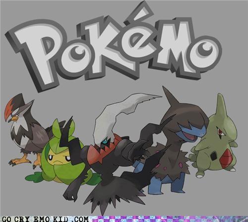 cutting,emo,nintendo,Pokémon,video games