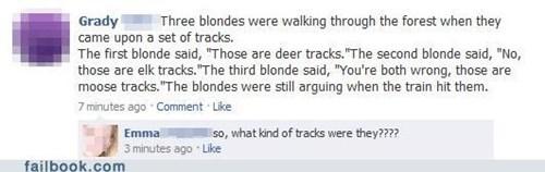 blonde,exactly,facepalm,joke