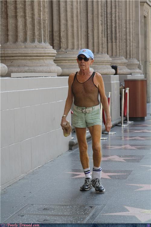 hate,mesh,short shorts,socks,sun glassese,tank top,wtf