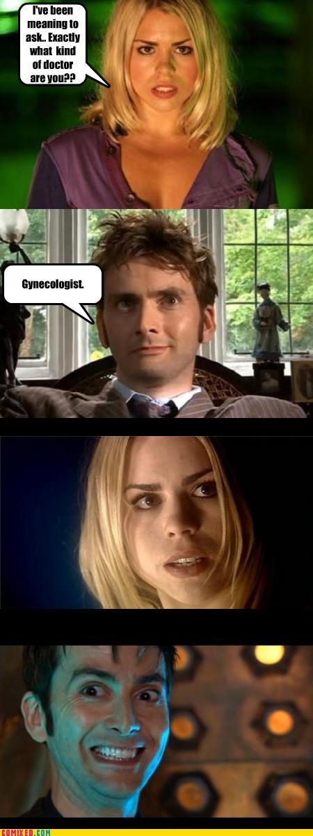 That's Why There's Stirrups in the Tardis