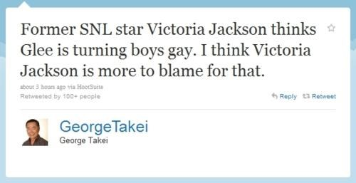 Tweet of the Day: George Takei on Victoria Jackson
