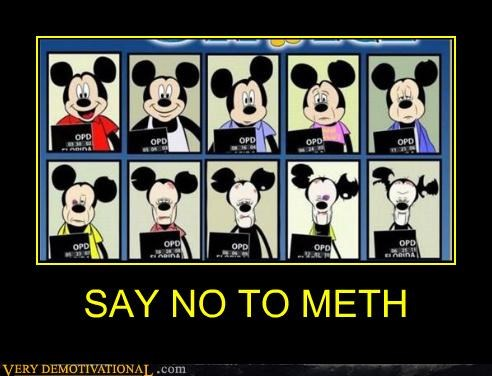 SAY NO TO METH