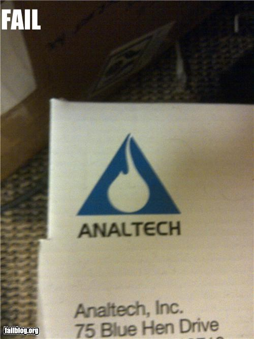 Logo Fail - AnalTech